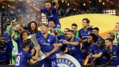 Chelsea Europa League champions