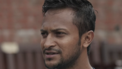 Shakib's 124 not out