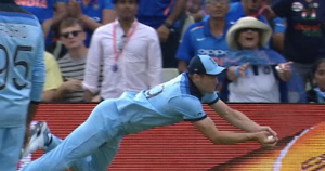 Woakes's remarkable catch to dismiss Pant