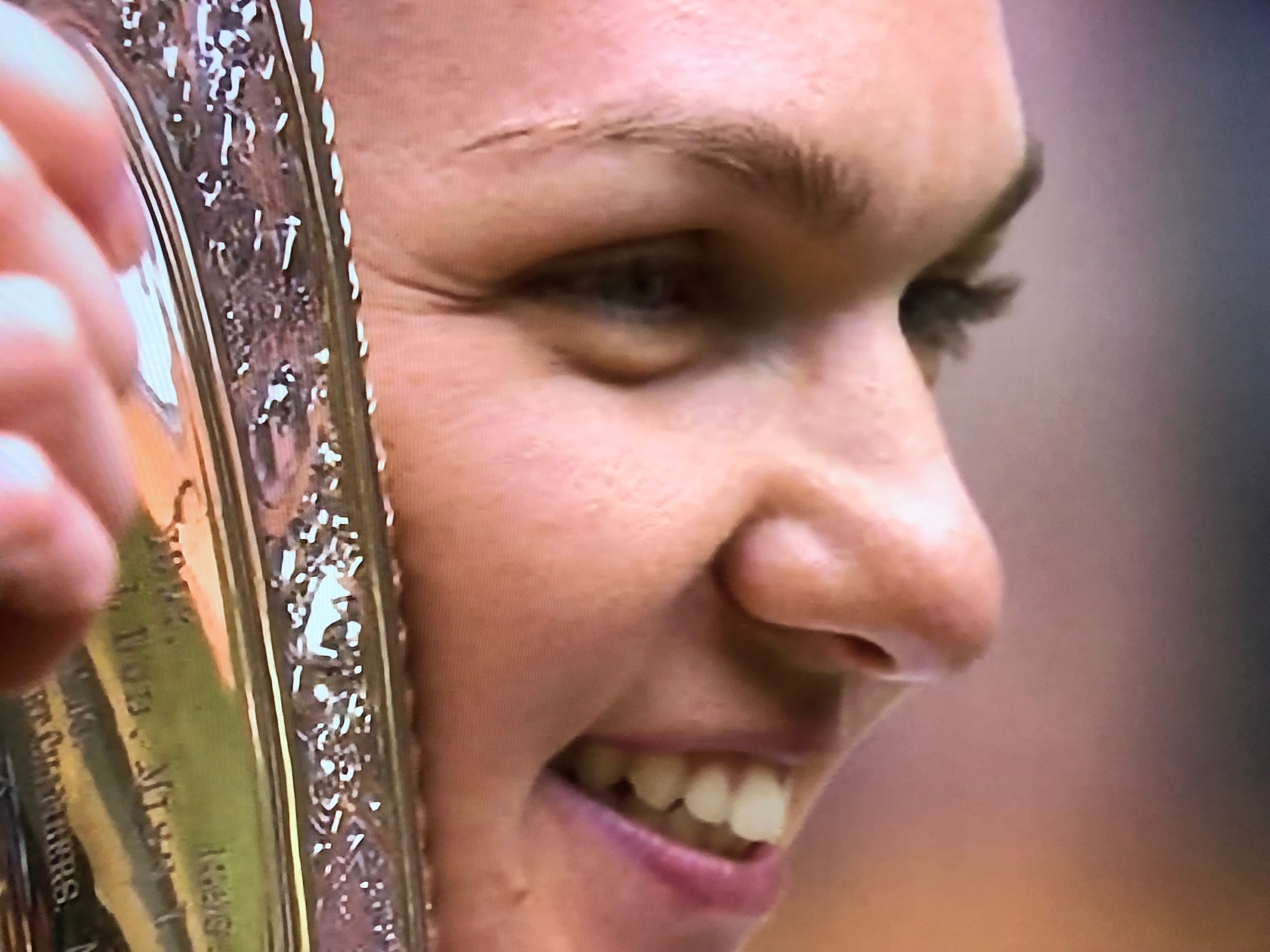 Romanian Simona Halep beat Serena Williams to win  Wimbledon Grand slam for the first time