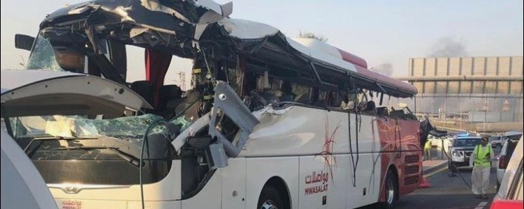 Coach crashed which killed 26 people