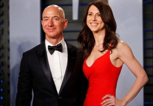 Jeff Bezos and Mackenzie