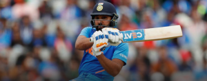 Rohit Sharma has become the second cricketer to smash four hundreds in a World Cup.