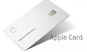 Apple Titanium card