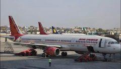 Stranded Air India flights