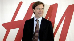 Karl-Johan Persson, CEO, H&M
