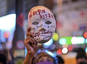 Hong Kong mask protests
