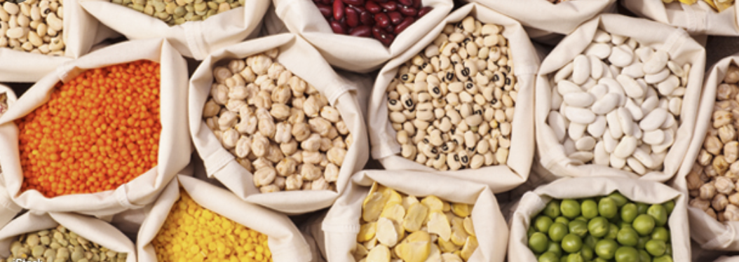 Chick peas and Lentils