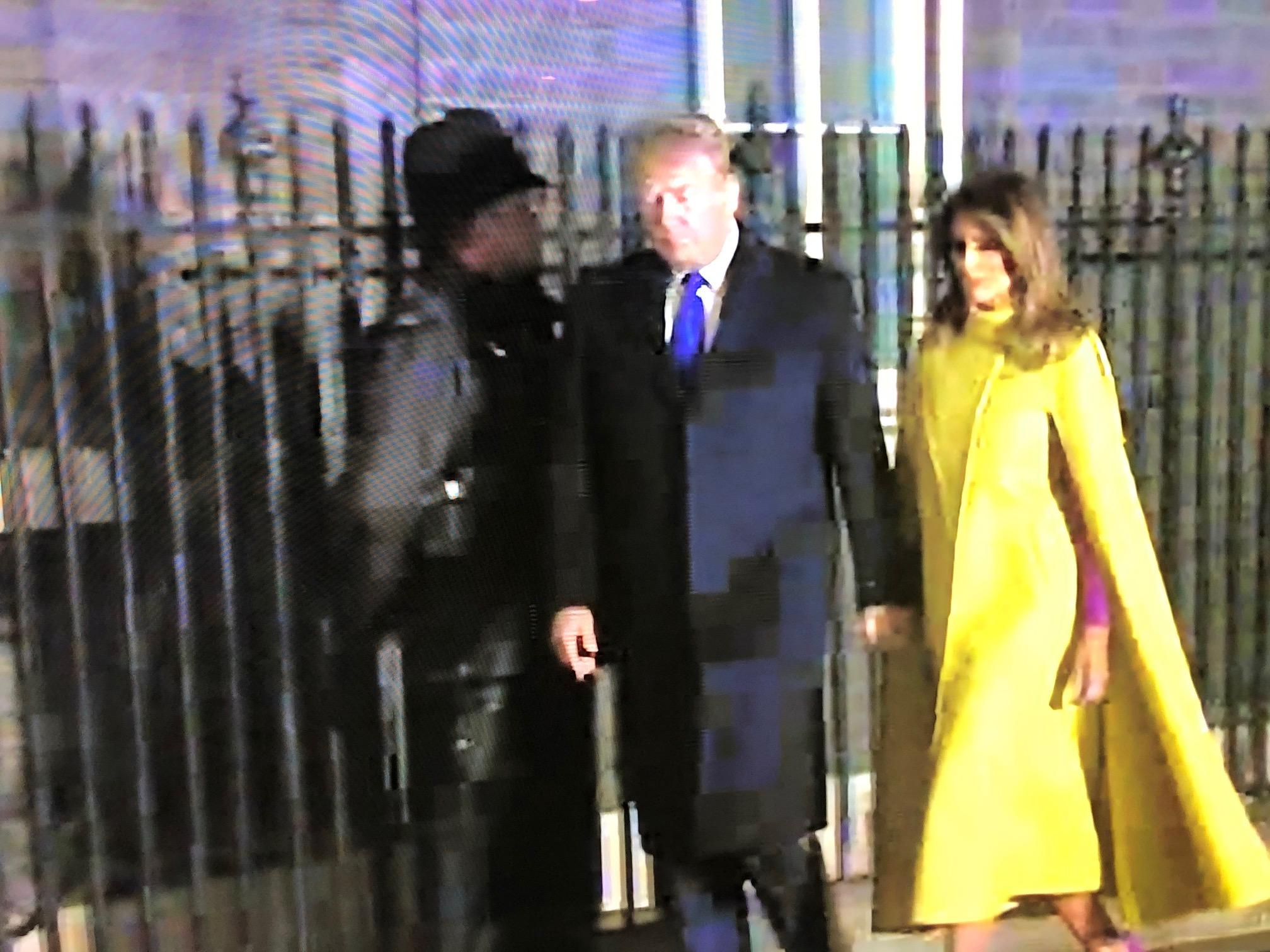 Donald Trump at Downing Street