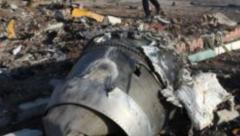 Crashed Ukrainian plane