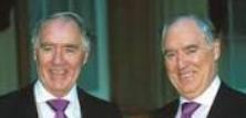 Sir David Rowat Barclay and Sir Federick Hugh Barclay