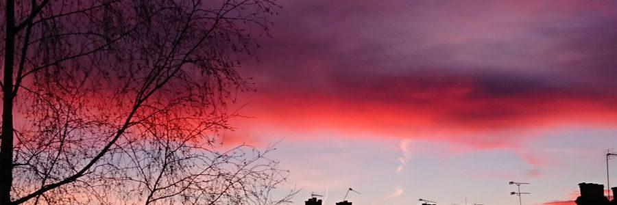 Sunrise at Hampstead London