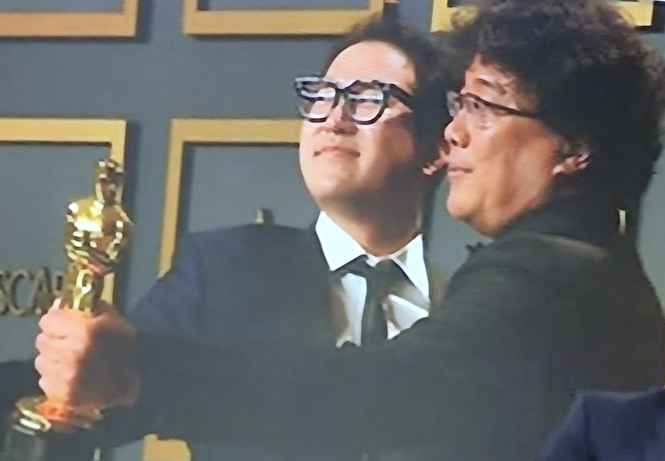 Bong Joon-Ho won best driector and best film for Parasite