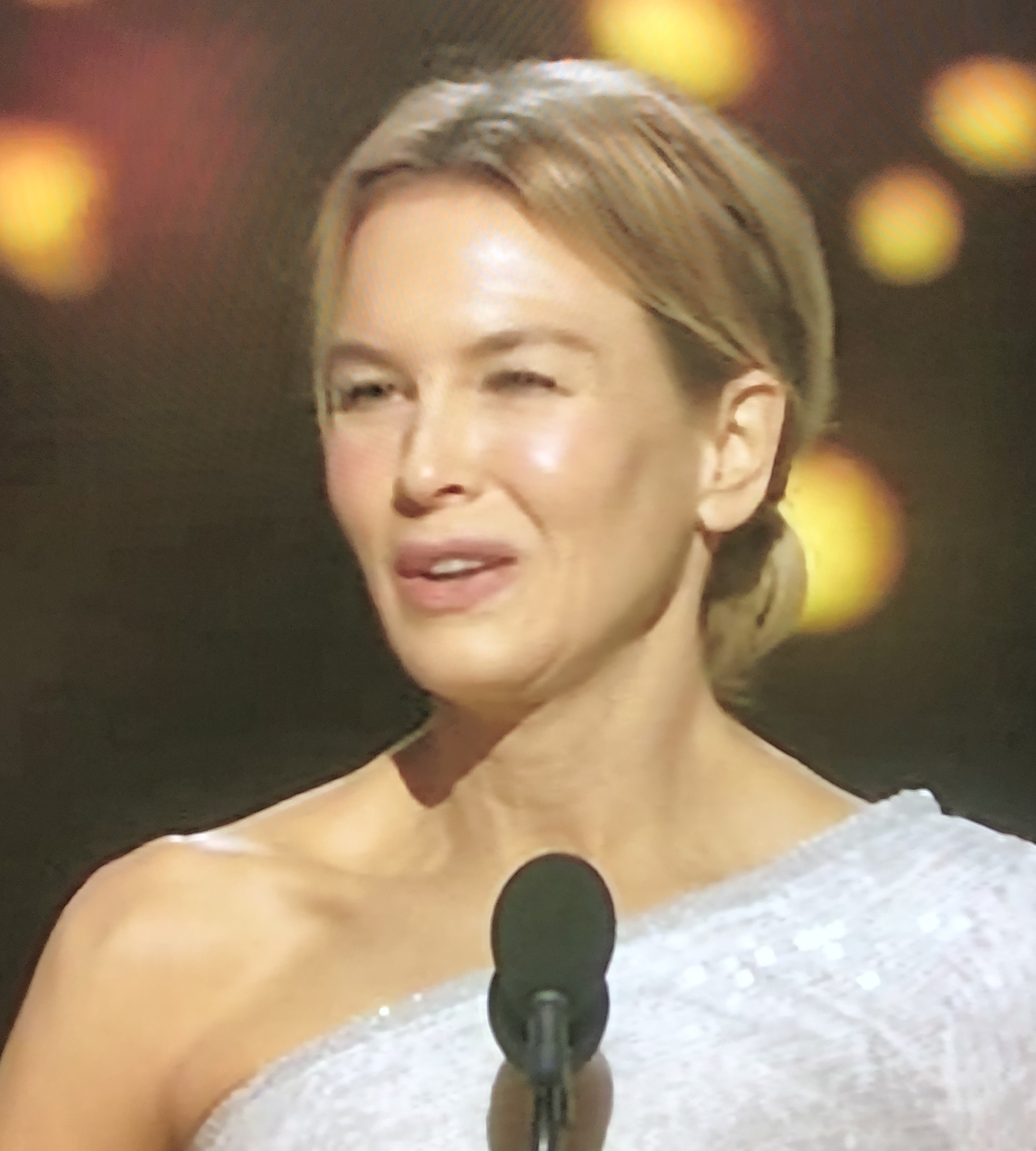 Renee Zellweger won the best actress for playing Judy Garland in Judy