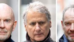 Roger Jenkins, Tom Kalaris, Richard Boath