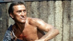 Kirk Douglas in Spartacus which won four Oscars