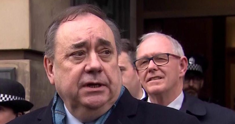 Alex Salmond, the Former First Minister