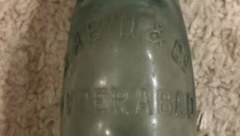 Round bottom soda bottle