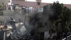 PIA plane crash at Model colony