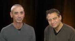 Steven Kotler and Peter H Diamandis, a space-entrepreneur
