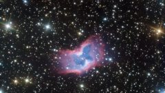 NGC 2899 a bubble of gas taht resembles like a butterfly