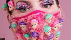 Barbie masks