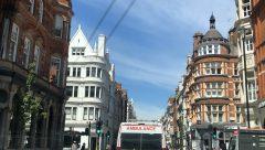 Deserted London streets