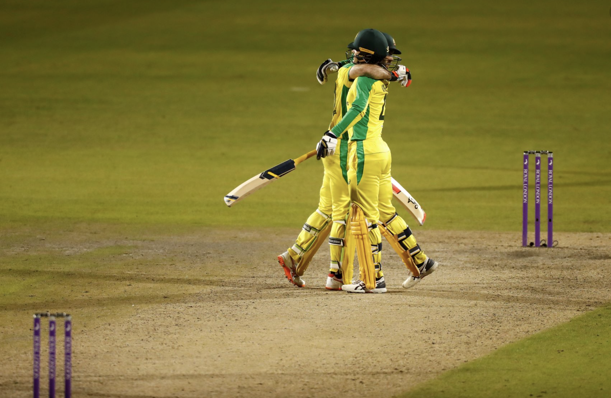 Glenn Maxwell and Alex Carey  both with centiuries ensured Australian win