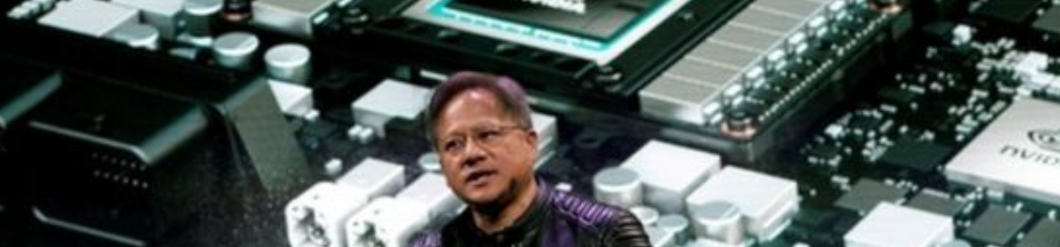 Taiwanese-born entrepreneur Jensen Huang who founded Nvidia in 1993