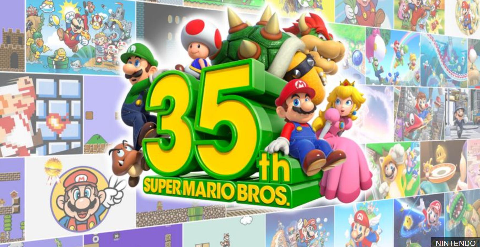 Super Mario is 35