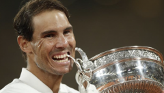 Rafael Nadal wins Roland Garros Grand Slam