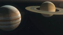 Winter solstice: Jupiter and Saturn alignment
