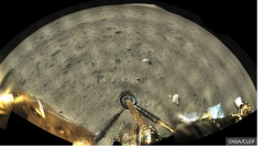 North-West Moon landing of Chang'e5
