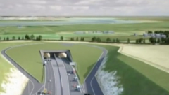 Propose virtual flyover of new Thames Lower crossing.
