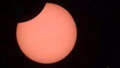 Solar eclipse in Chile