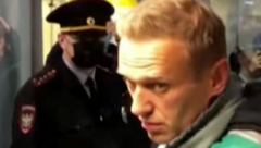 Alexei Navalny a Putin critic who returned to Moscow from Germany