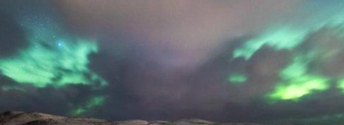 Aurora lights seen in Shetland