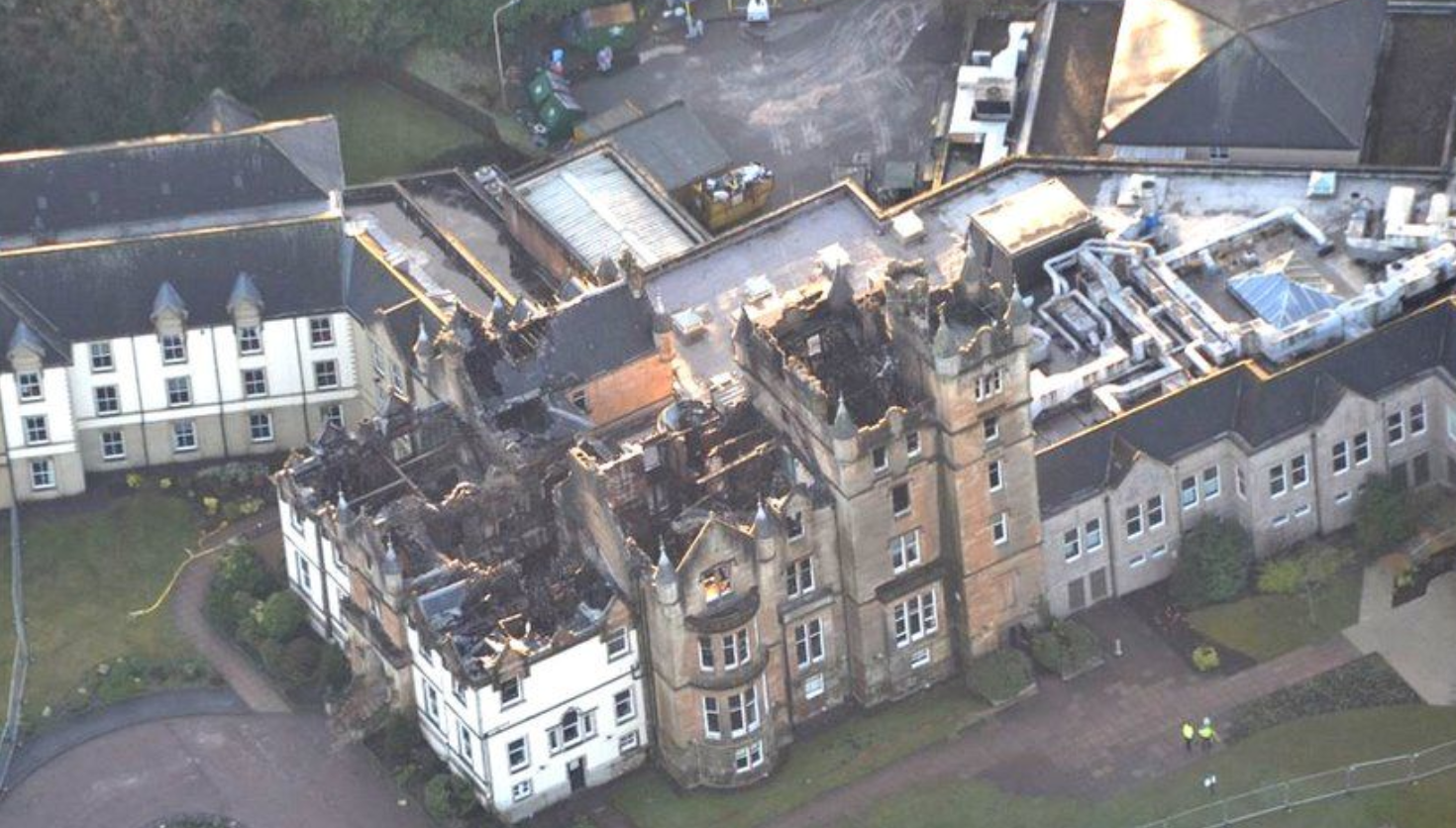 Blaze that destroyed Cameron House