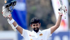 Lahiru Thirimanne scoring 111 his first century for almost 8 years