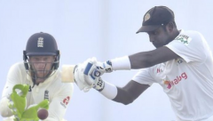 Mathews's unbeaten century