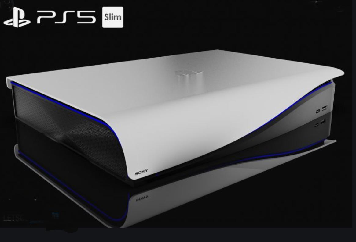 PS5 Slim Concept