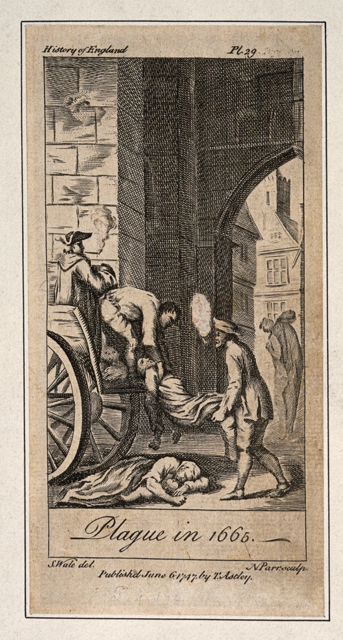 Plague in 1665