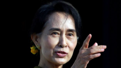 Aung San Suu Kyi and other senior members of her governing party are detained