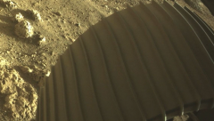 Colour picture captured from the rover NASA