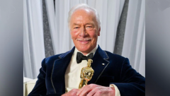 Oscar-winning Christopher Plummer
