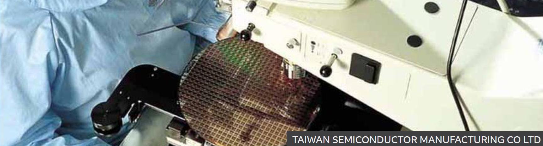 Taiwan biggest producer of semi-conductors