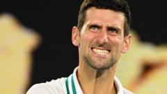 Top seed Novak Djokovic beat  the Russian first time qualifier and world number 114, Aslan Karatsev to reach the Australian Open final 6-3, 6-4, 6-2
