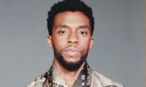 Chadwick Boseman as winner of Best Drama award for Ma Rainey's Black Bottom