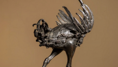 Bronze Ostrich statue sold for £.18m