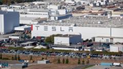 Tesla cars offer limited technology